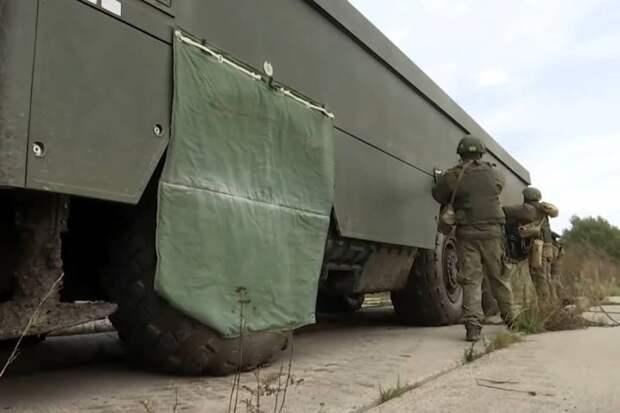 Минобороны РФ показало стрельбы БРК «Бастион» в навесных комплектах снижения заметности