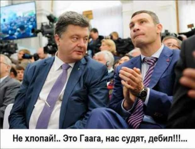 Украинские политики тихонько заговорили о приближающемся Гаагском трибунале