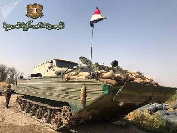 Российские ПТС в Сирии еще раз подтвердили свою надежность
