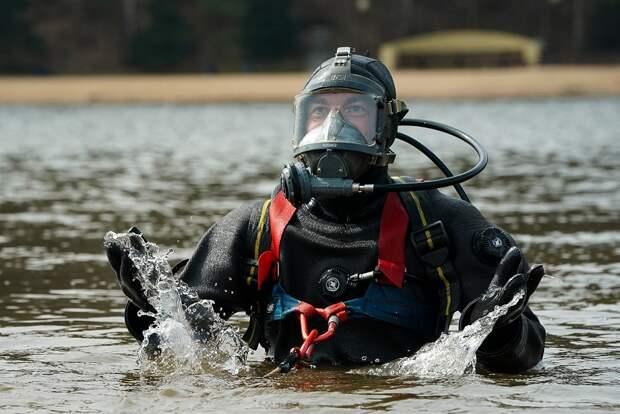 Водолазы завершили обследование водоемов столицы для купания летом