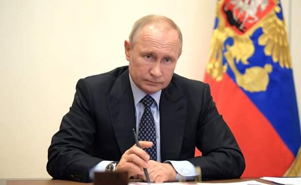 Совещание у Путина по выплатам медикам