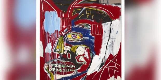 Картину неоэкспрессиониста Жана-Мишеля Баския продали за $93 млн
