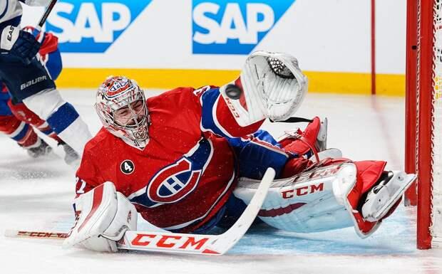 Кэри Прайс стал 6-м вратарем в истории НХЛ, проведшим 700 матчей за один клуб в регулярных чемпионатах