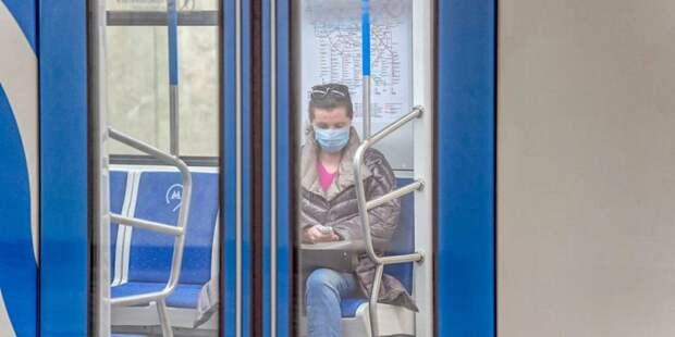 Депутат МГД объяснила необходимость введения масочного режима в Москве Фото: mos.ru