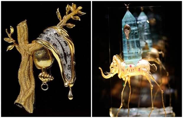 Как причудливые работы Сальвадора Дали стали шедеврами ювелирного искусства