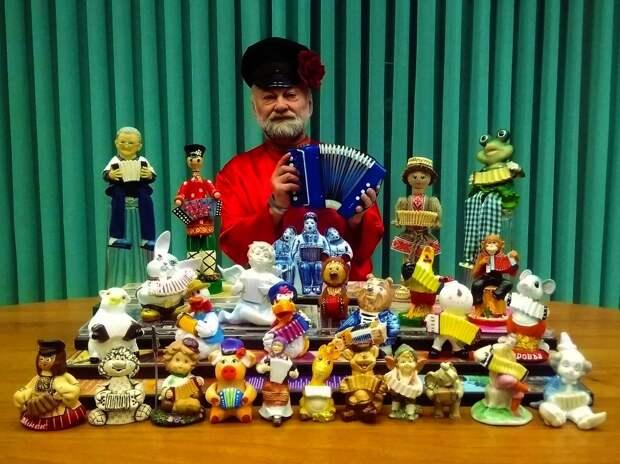 Сергей и его коллекция/ из личного архива