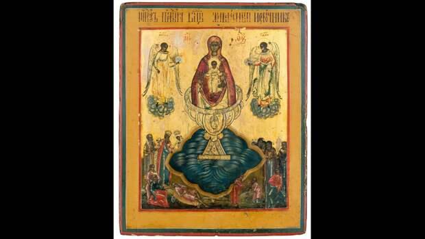 Празднование в честь иконы Божией Матери «Живоносный источник»: история реликвии