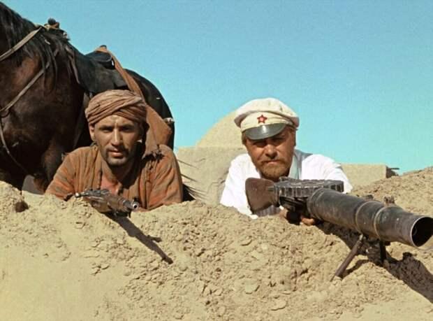 В фильме «Белое солнце пустыни» цензура изменила финал. Показываем кадры и видео, которые не вошли в фильм