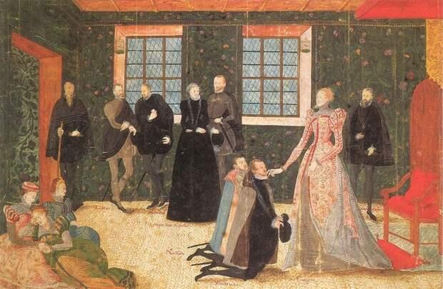 Елизавета принимает голландских послов, 1560-е.