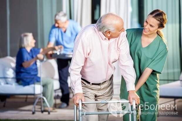 Для восстановления утраченных после инсульта функций разрабатывается программа реабилитации