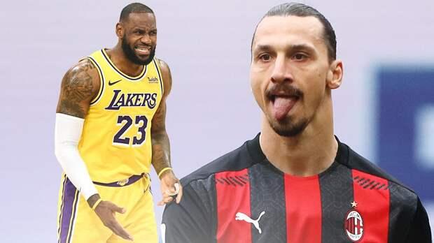 «Держи свой зад подальше от Лос-Анджелеса». Баскетболисты НБА налетели на Златана после слов про политику и расизм