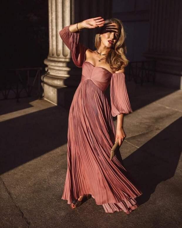 Традиционно модно летом - шикарные длинные и легкие платья 2019