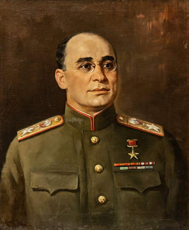 Л. П. Берия. Автор портрета Корыгин К. Н.