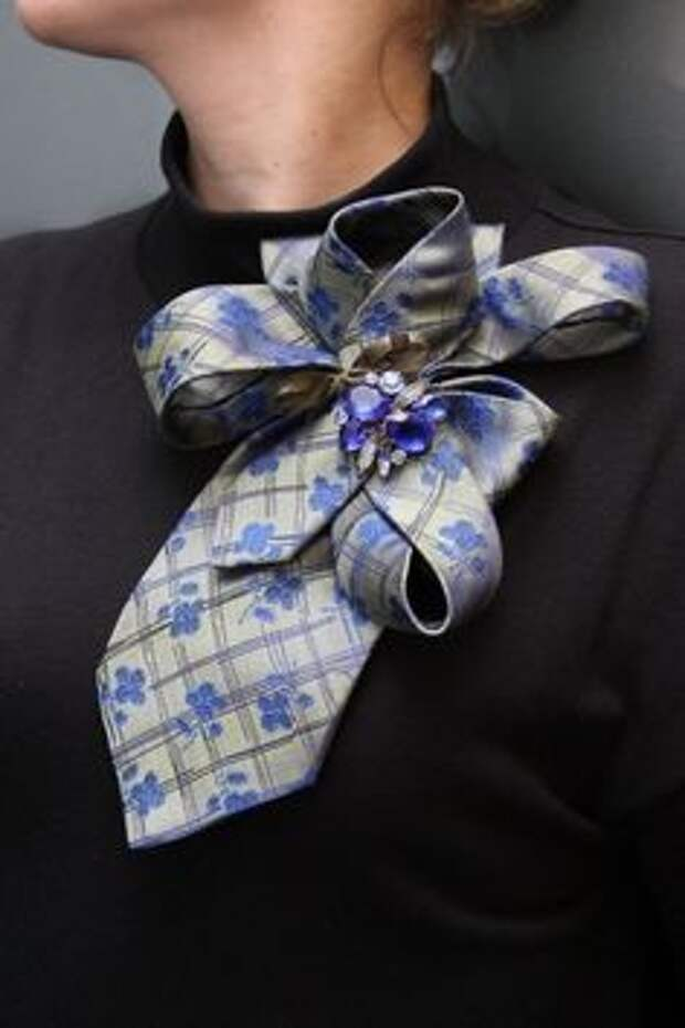 Преображение мужских галстуков