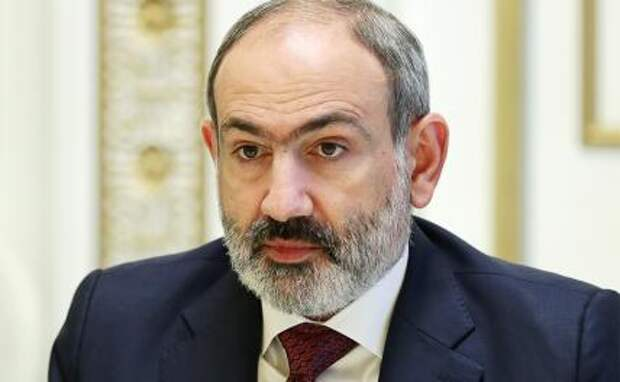 На фото: исполняющий обязанности премьер-министра Армении Никол Пашинян
