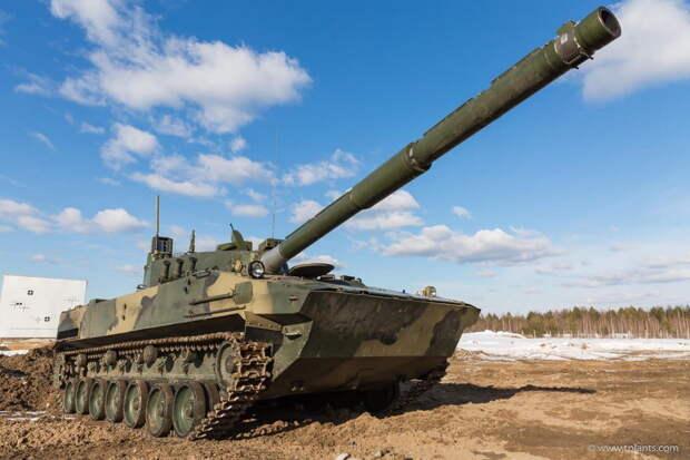 """Легкий танк """"Спрут-СДМ1"""" испытали на море и в субтропиках"""