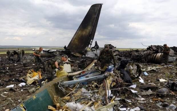 Появилась новая версия о падении Ил-76 в Луганске в 2014 году