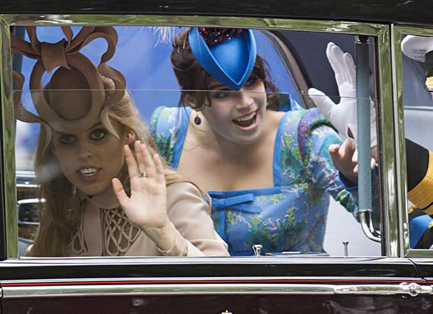 Под другим углом: самые забавные моменты свадьбы Кейт Миддлтон и принца Уильяма