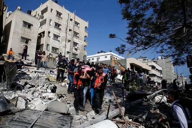Десять израильтян погибли с начала обострения конфликта с Палестиной