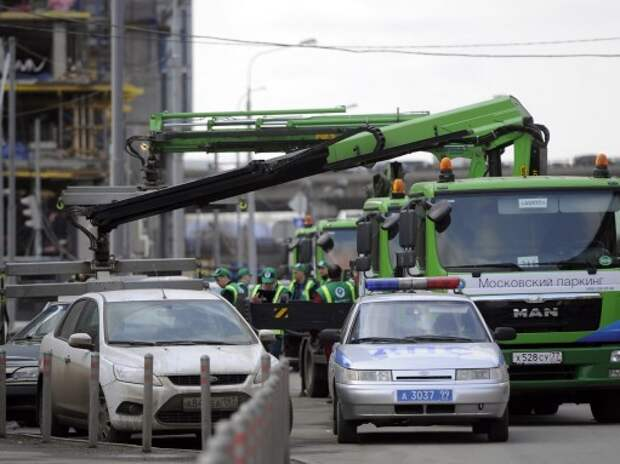 Суд арестовал на пять суток одного из «паркменов» в Москве