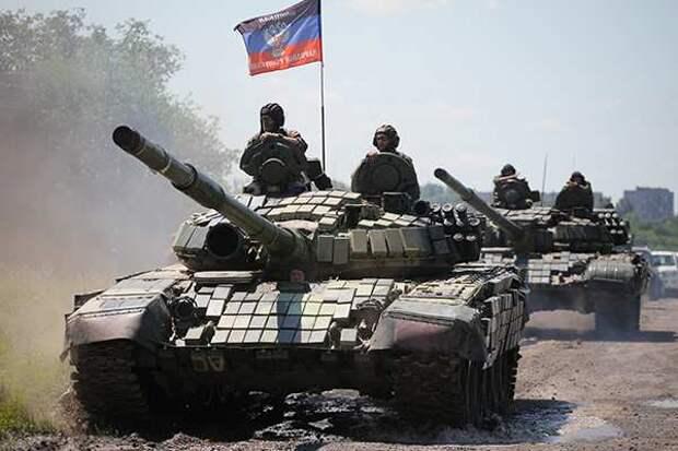 В Донбассе возобновились бои