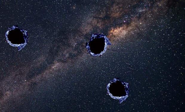 Загадочный объект пролетел нашу галактику насквозь и оставил после себя огромный след