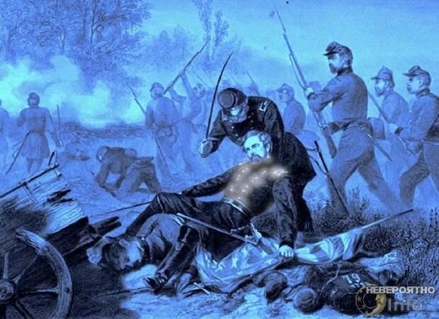 Феномен «Ангельского сияния»: светящиеся раны солдат