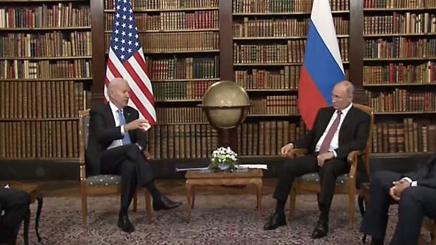 Путин выразил благодарность Байдену за предложение встретиться лично