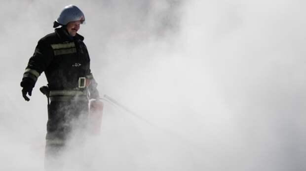Спасатели потушили крупное возгорание на заводе по переработке древесины в Приморье