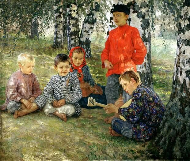 Богданов-Бельский картины