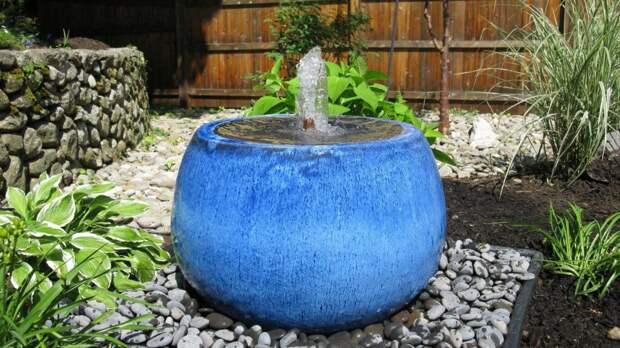 Как своими руками сделать садовый фонтан?