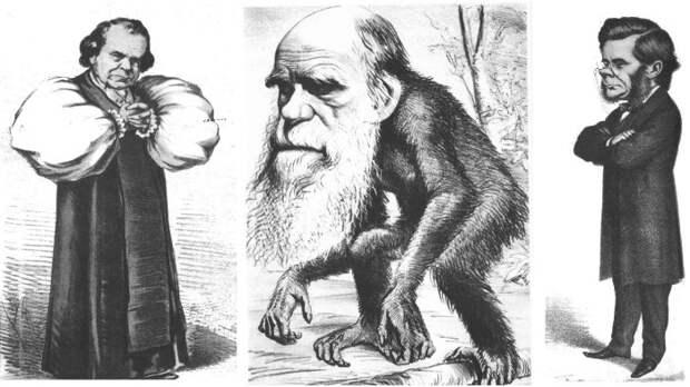 Дарвин и Гексли против Уилберфорса| Фото: www.mun.ca.