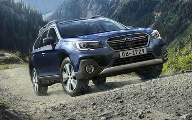 Кросс-универсал Subaru Outback не подорожал после обновления