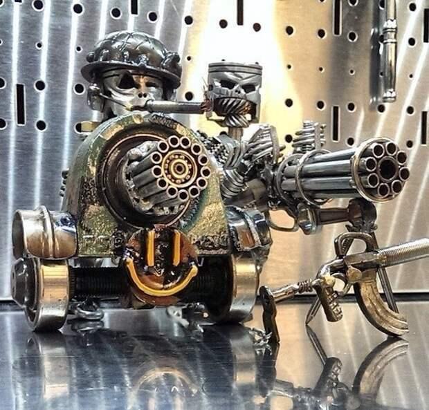 """Роботы Тайлера"" Tigger Welding"