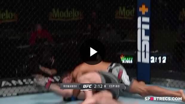 UFC Вегас 24: Александр Романов (Молдова) vs Хуан Эспино (Испания)