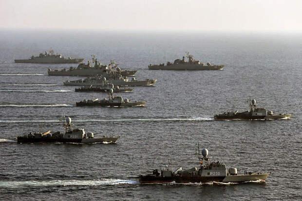 """АПЛ """"Джорджия"""" в Персидском заливе"""