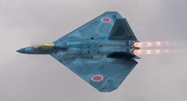 Появились первые эскизы японского истребителя шестого поколения