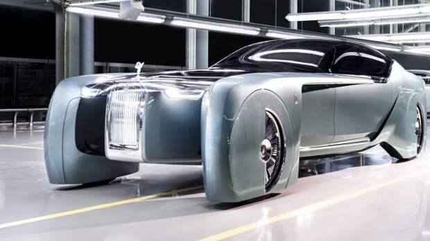 11. Rolls-Royce 103EX авто, автомобили будущего, уникальные автомобили