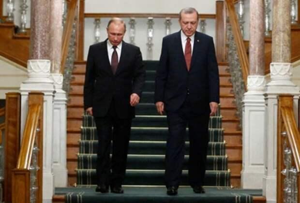 Эрдоган позвонил Путину после убийства российского посла