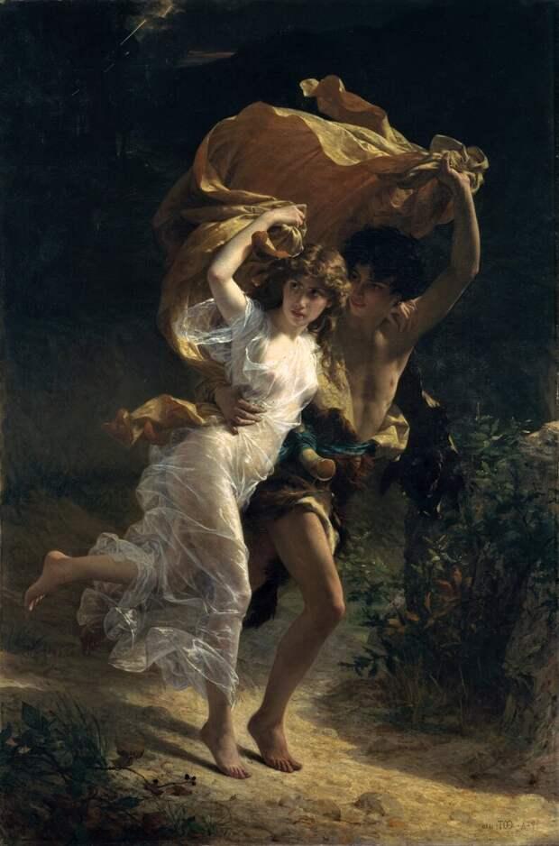 Крутобедрые нимфы и хрупкие наяды художника Пьера Огюста Кот