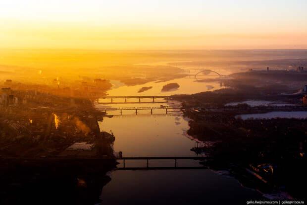 Мосты Новосибирска.