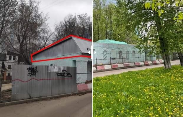 Арендатору в Алтуфьевском пришлось сносить незаконно надстроенный в здании этаж
