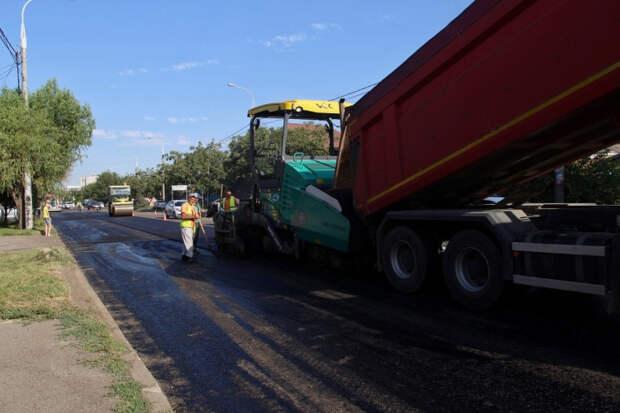 В Краснодаре в 2021 году отремонтируют около 80 км дорог