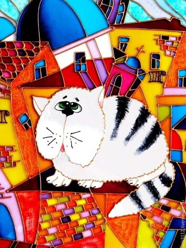 Прекрасные котики.  Автор - Ирина Васильева