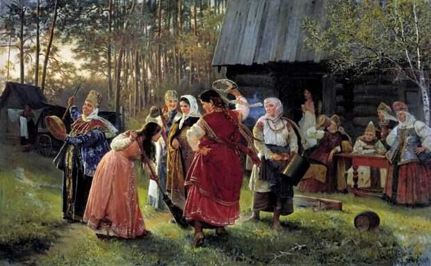 Забытые имена.  Русский живописец КОРЗУХИН АЛЕКСЕЙ ИВАНОВИЧ