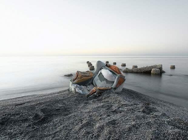 Молодое озеро Солтон-Си, которое появилось случайно