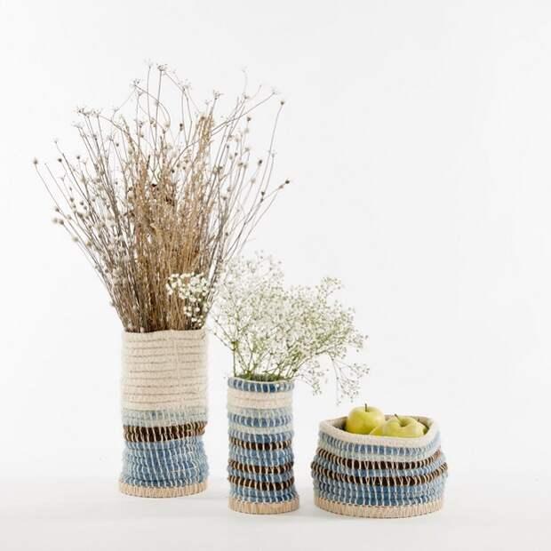 Гобеленовые вазы (ткачество)