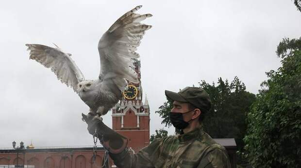 Буран на страже Кремля