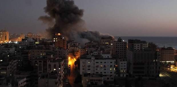 Армия Израиля назвала число ракет, выпущенных из сектора Газа с начала обострения