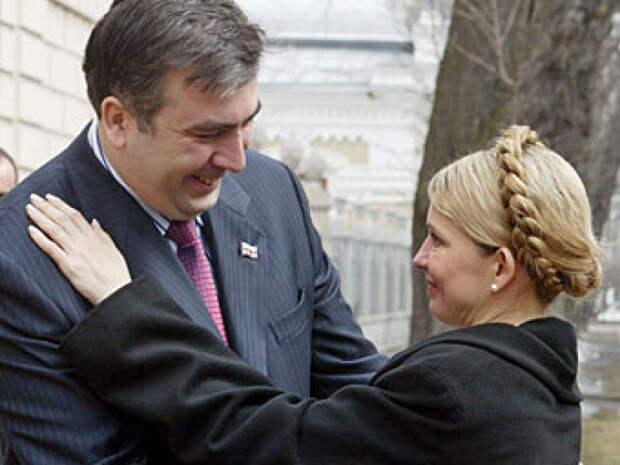 СДД по укропейски. Грузинский барыга сдал Тимошенко